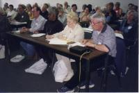 Retirees at an early workshop