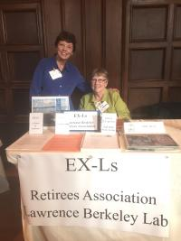 EX-Ls board members tabling at a special event