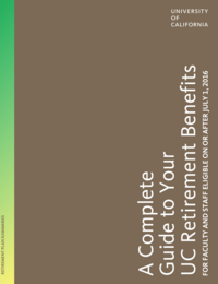 Retirement Handbook Cover